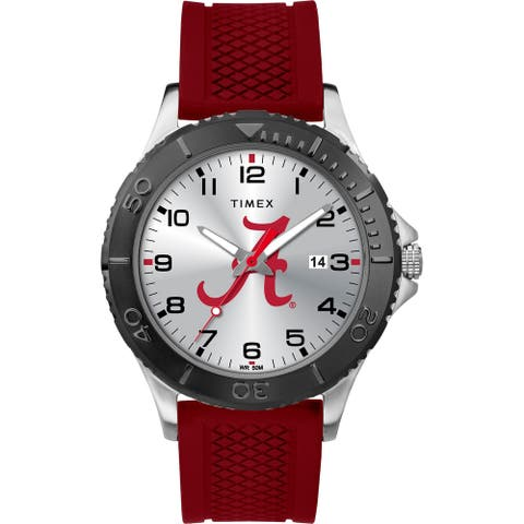 Timex NCAA Tribute Collection Alabama Crimson Tide Gamer Crimson Men's Watch