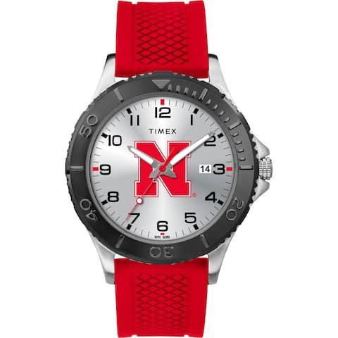 Timex NCAA Tribute Collection Nebraska Cornhuskers Gamer Red Men's Watch