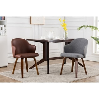 Porthos Home Hanne Dining Chair, Hemp Upholstery And Bamboo Wood