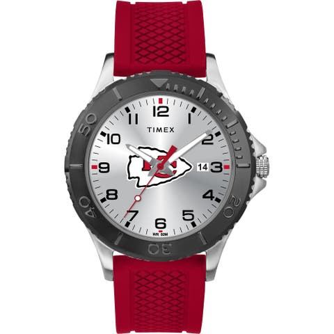 Timex NFL Tribute Collection Kansas City Chiefs Gamer Red Men's Watch