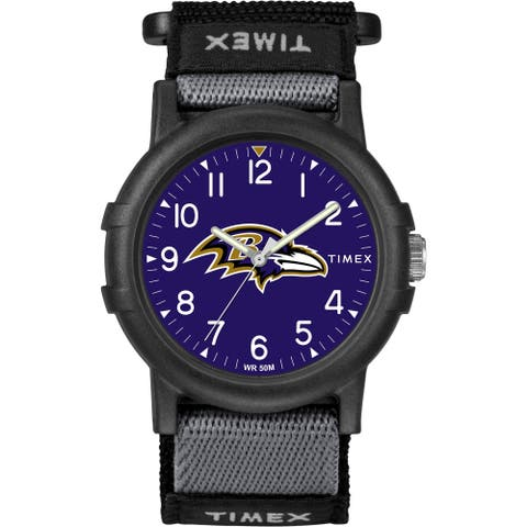 Timex NFL Tribute Collection Baltimore Ravens Recruite Youth Watch
