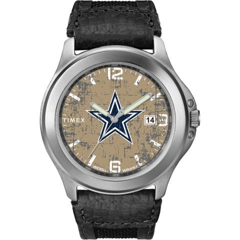 Timex NFL Tribute Collection Dallas Cowboys Men's Old School Watch