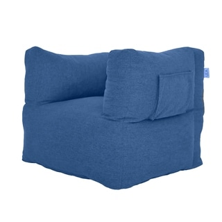 Blueberry Cozy Nest Beanbag Chair