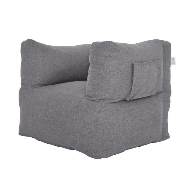 Admirable Ash Grey Cozy Nest Beanbag Chair Bralicious Painted Fabric Chair Ideas Braliciousco
