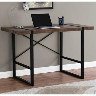 Carbon Loft DiPalo Brown Reclaimed Wood Computer Desk