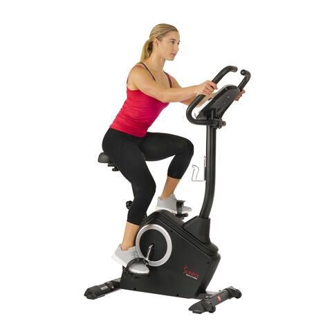 Sunny Health & Fitness Programmable Upright Bike