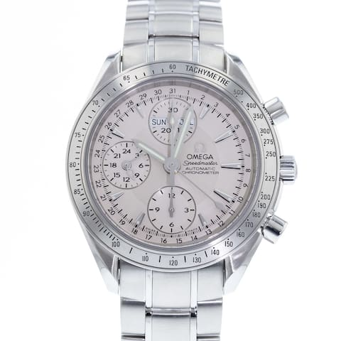 Omega Men's 3221.30.00 'Speedmaster' Chronograph Stainless Steel Watch