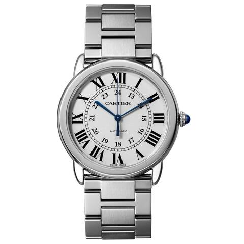 Cartier Unisex WSRN0012 'Ronde Solo' Stainless Steel Watch