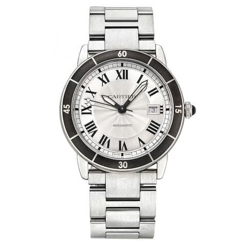 Cartier Men's WSRN0010 'Ronde Croisiere De Cartier' Stainless Steel Watch