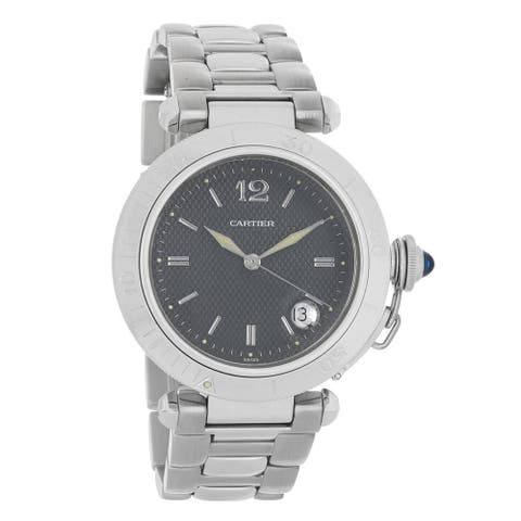 Cartier Men's W31017H3 'Pasha' Stainless Steel Watch