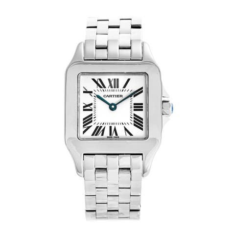 Cartier Unisex W25065Z5 'Santos' Polished Stainless Steel Watch