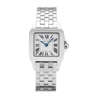 Cartier Women's W25064Z5 'Santos Demoiselle' Stainless Steel Watch