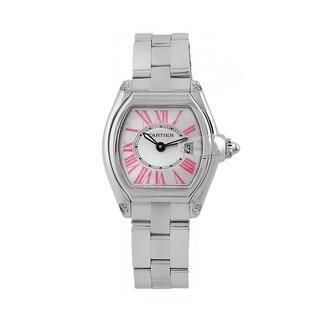 Cartier Women's W6206006 'Roadster' Stainless Steel Watch