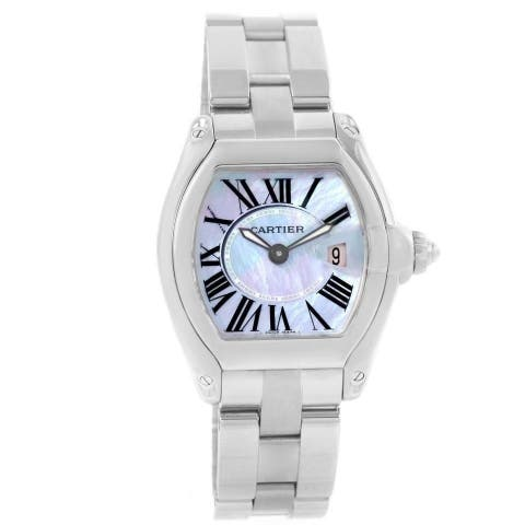 Cartier Women's W6206007 'Roadster' Stainless Steel Watch