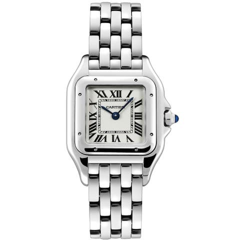 Cartier Women's WSPN0007 'Panthere De Cartier' Stainless Steel Watch