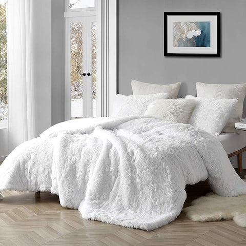 Coma Inducer Oversized Comforter - Are You Kidding - White (Shams not included)