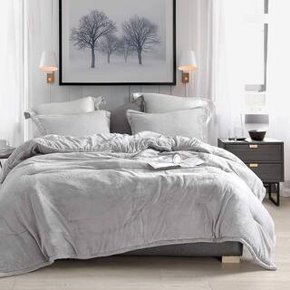 Coma Inducer Oversized Oversized Comforter - Wait Oh What - Tundra Gray