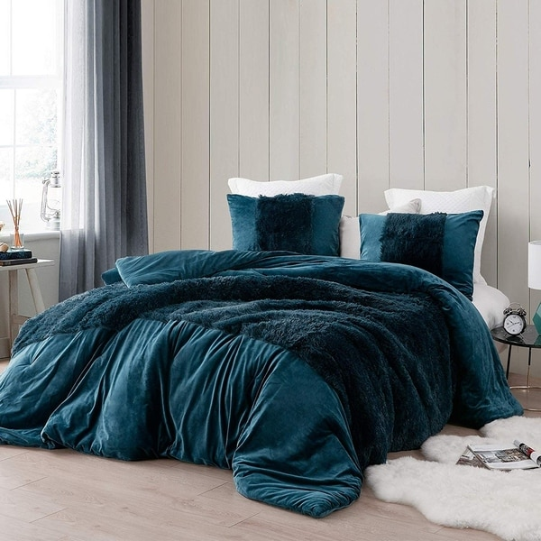 Coma Inducer Oversized Duvet Cover - Are You Kidding? - Nightfall Navy. Opens flyout.