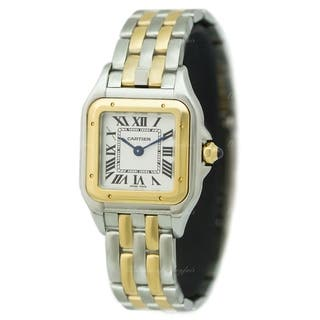 Cartier Women's W2PN0006 'Panthere De Cartier' Two-Tone Gold-Tone and Stainless Steel Watch