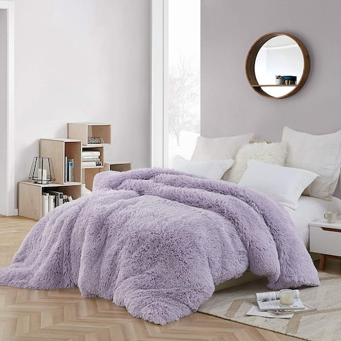 Coma Inducer Oversized Duvet Cover - Are You Kidding? - Orchid Petal/White