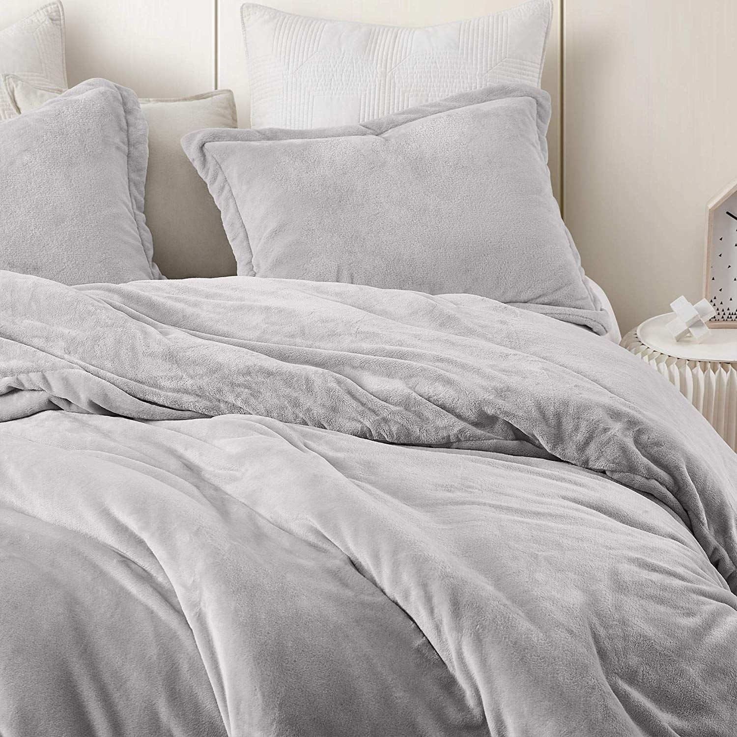 Coma Inducer Oversized Duvet Cover Wait Oh What Tundra Gray Overstock 29003866