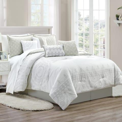 Tita 8 piece comforter set