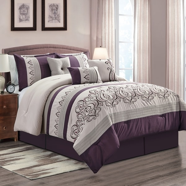 Gracewood Hollow Holthe 7-piece Comforter Set. Opens flyout.