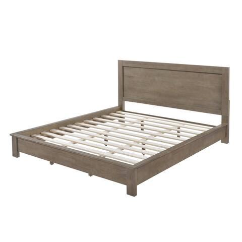 Strick & Bolton Alsa Gray Queen Bed
