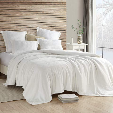 Coma Inducer Blanket - Wait Oh What - Farmhouse White