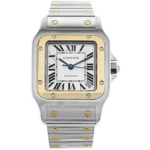 Cartier Men's W20099C4 'Santos' Stainless Steel Watch