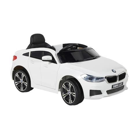 BMW 6V 6 Series GT with Rechargeable Battery - Boys and Girls