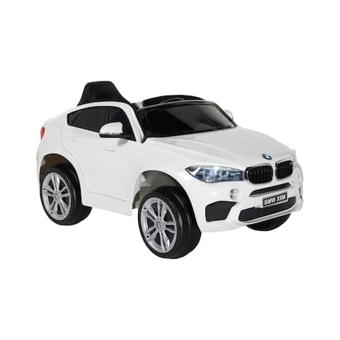 BMW 6V X6M with Rechargeable Battery - Boys and Girls