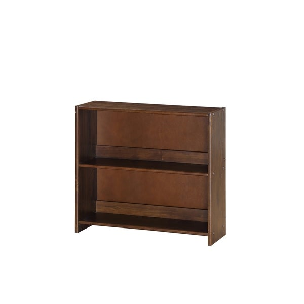Donco Kids Artesian Small Bookcase In Brown Glaze - N/A