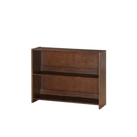 Donco Kids Artesian Bookcase in Brown Glaze