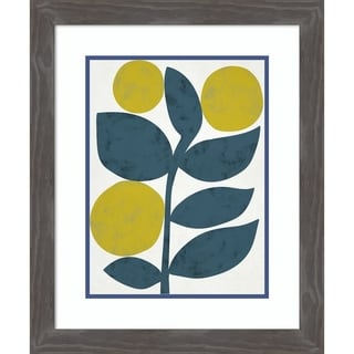 Framed Art Print 'Branch I' by Chariklia Zarris-Outer Size 20x24-inch