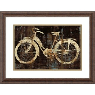 Link to Framed Art Print 'Vintage Ride (Bike)' by Amanda Wade - 26x20-inch Similar Items in Art Prints