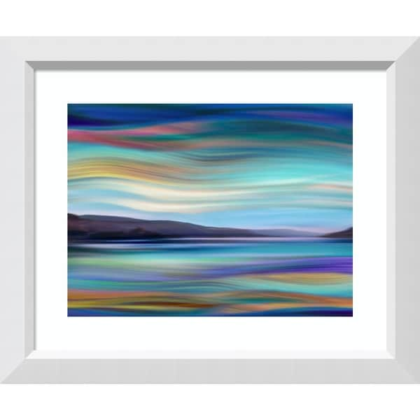 Framed Art Print 'Skylight II' by Annie Campbell-Outer Size 29x24-inch