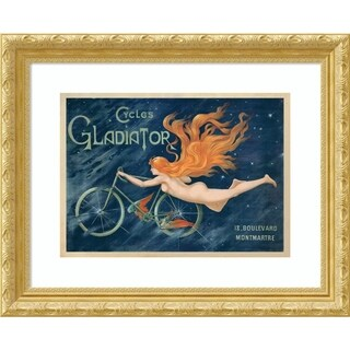 Framed Art Print 'Cycles Gladiator-1895 ca' by Anonymous - 27x22-inch