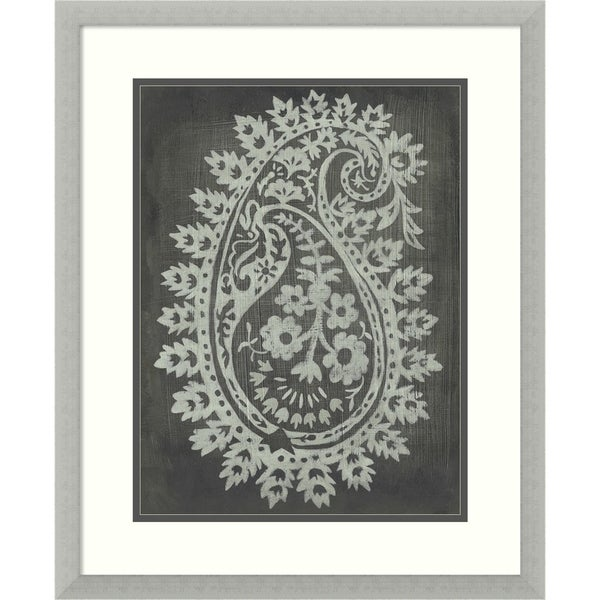 Framed Art Print 'Lola I' by Chariklia Zarris - Outer Size 19x24-inch