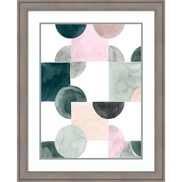 Framed Art Print 'Muted Mystery IV' by Grace Popp - 26x32-inch