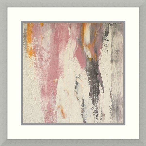 Framed Art Print 'Hyper Haute' by Glam Gold - Outer Size 22 x 22-inch