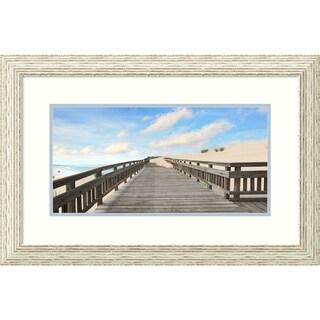 Framed Art Print 'Beach Photography XI' - 29x19-inch