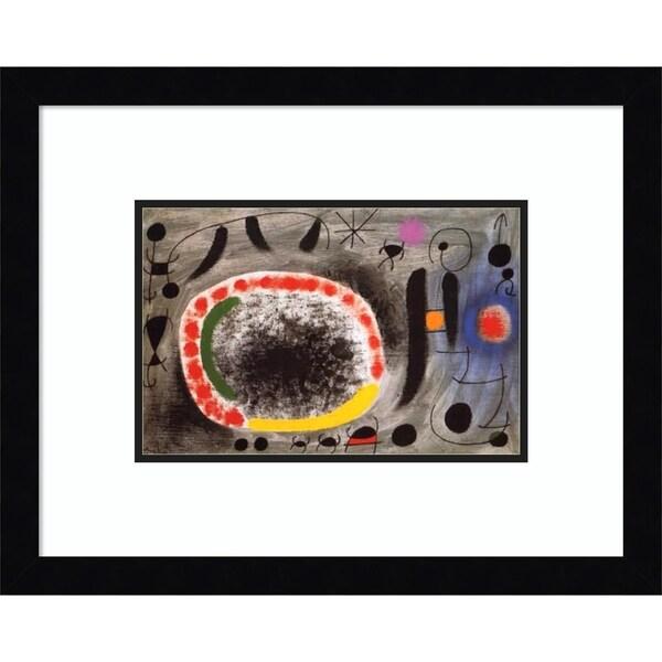 Framed Art Print 'Liebeslied der Vogel (Love Song of the Bird)' -15x12