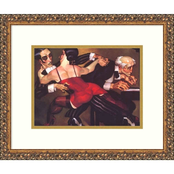 Framed Art Print 'The Last Tango' by Juarez Machado - 19x16-inch