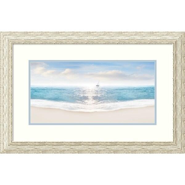 Framed Art Print 'Beach Photography VIII' - 29x19-inch