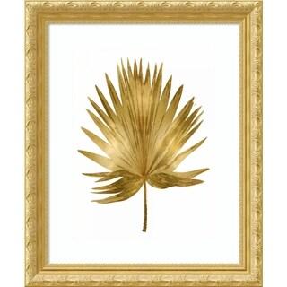 Framed Art Print 'Gold Palm IV' by Melonie Miller - 23x28-inch