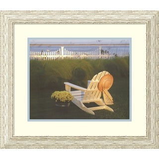 Framed Art Print 'Cape Cod Soul' by Marcia Duggan - 23x20-inch