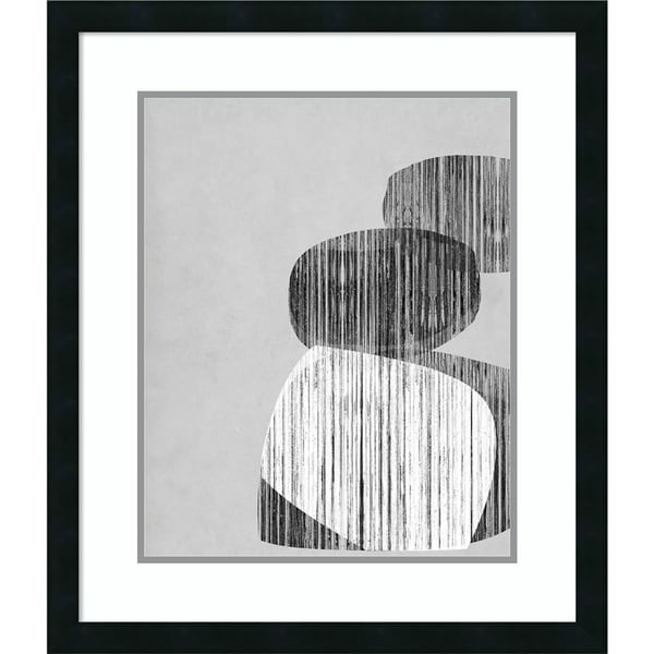 Framed Art Print 'Unseated I' by Jennifer Goldberger - 24x28-inch