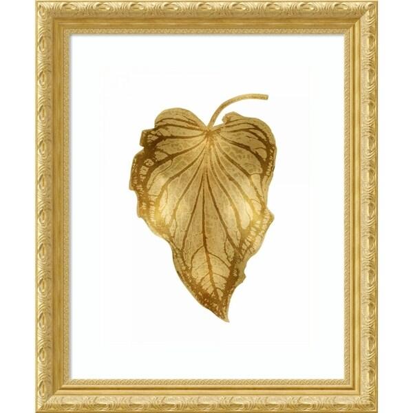 Framed Art Print 'Gold Palm III' by Melonie Miller - 23x28-inch