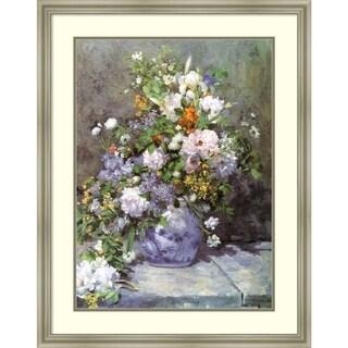 Framed Art Print 'Spring Bouquet, 1866' - 25x32-inch